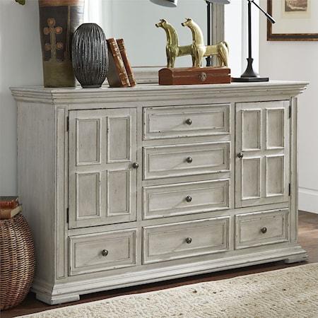 2-Door 6-Drawer Dresser
