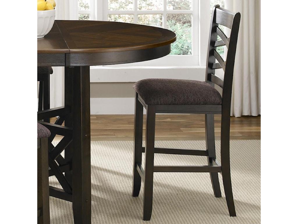 Liberty Furniture Bistro IIDouble X-Back Counter Height Chair