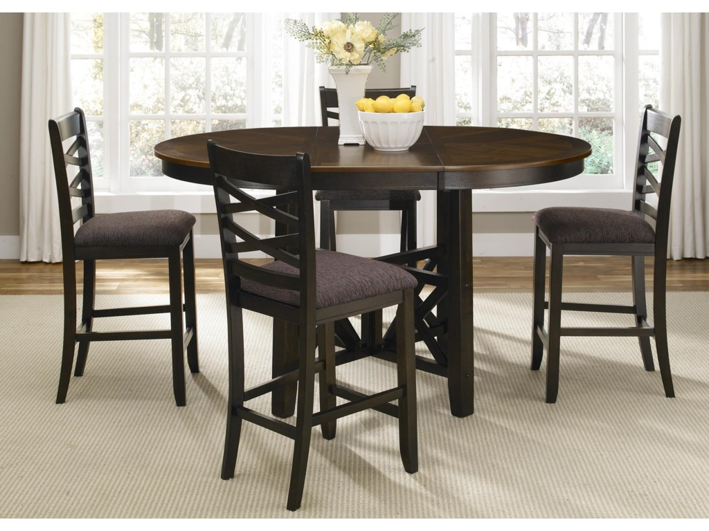 Liberty Furniture Bistro II5 Piece Gathering Height Dining Set