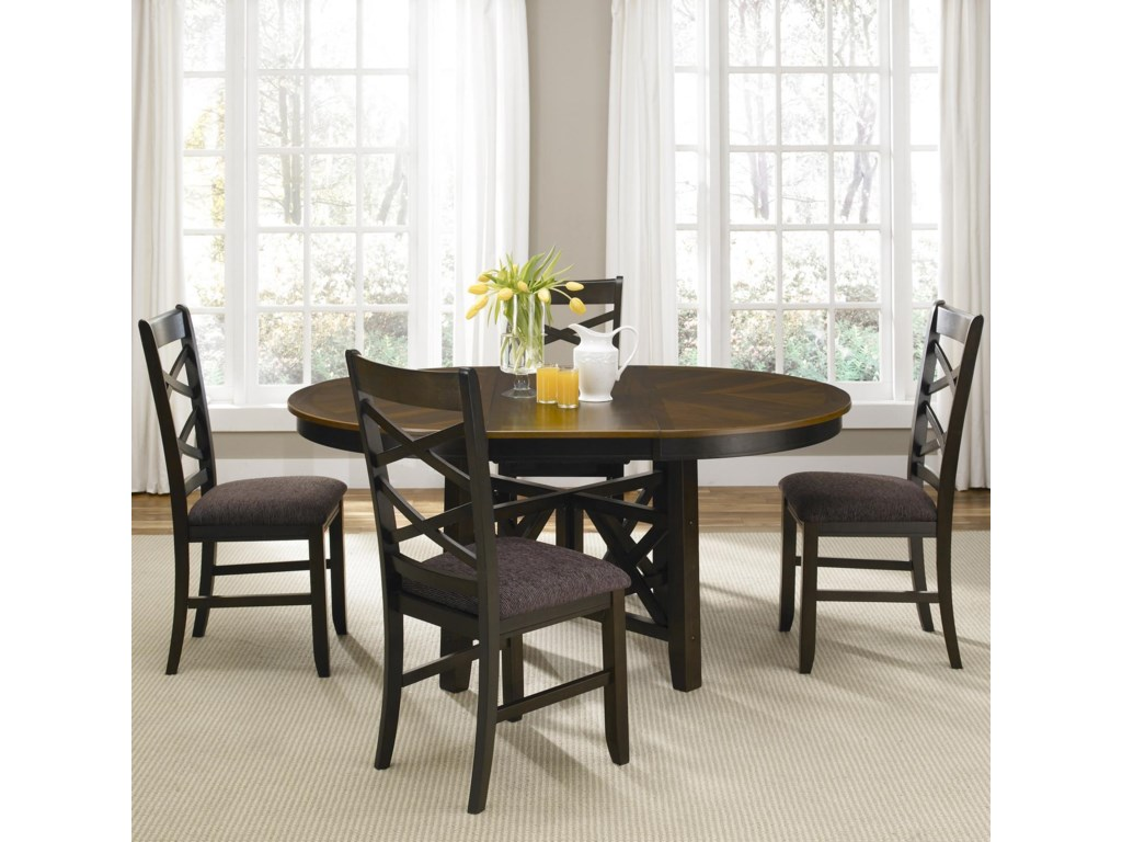 Liberty Furniture Bistro IIOval Pedestal Dining Table