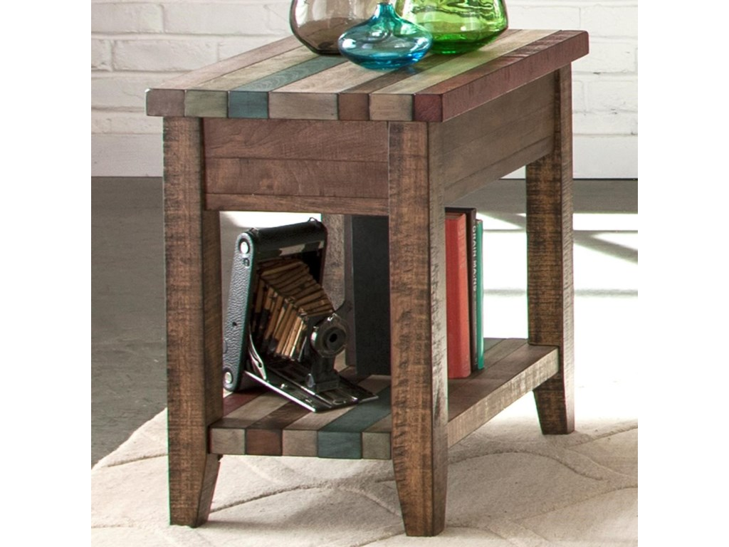 Liberty Furniture Boho LoftChairside Table