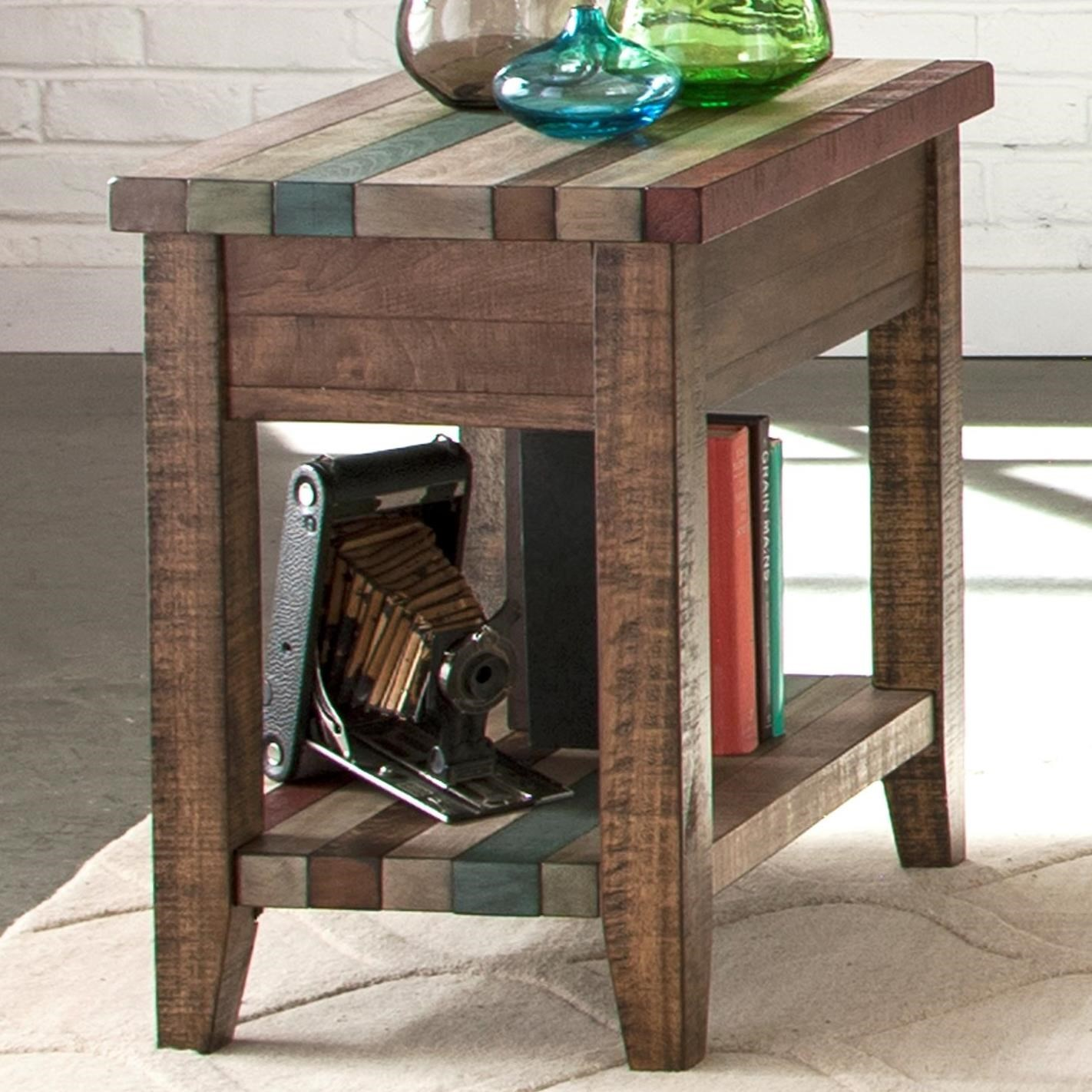 Liberty Furniture Boho Loft Chairside Table