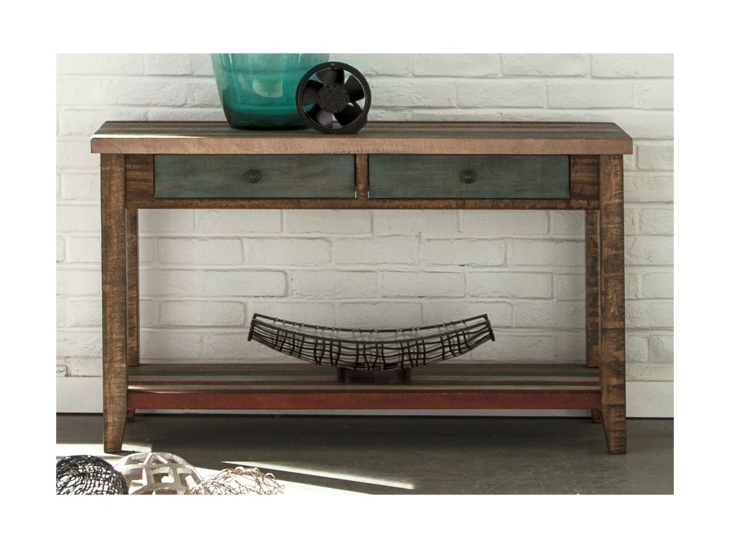 Liberty Furniture Boho LoftTwo Drawer Sofa Table