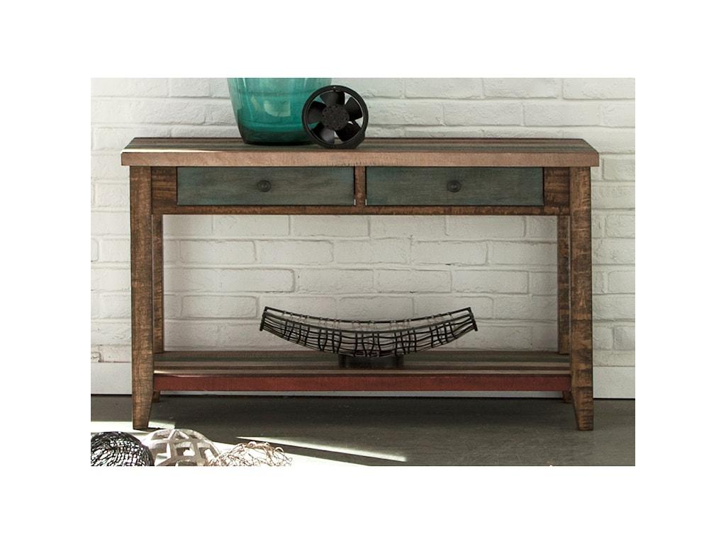 Liberty Furniture Boho LoftTwo Drawer Sofa Table