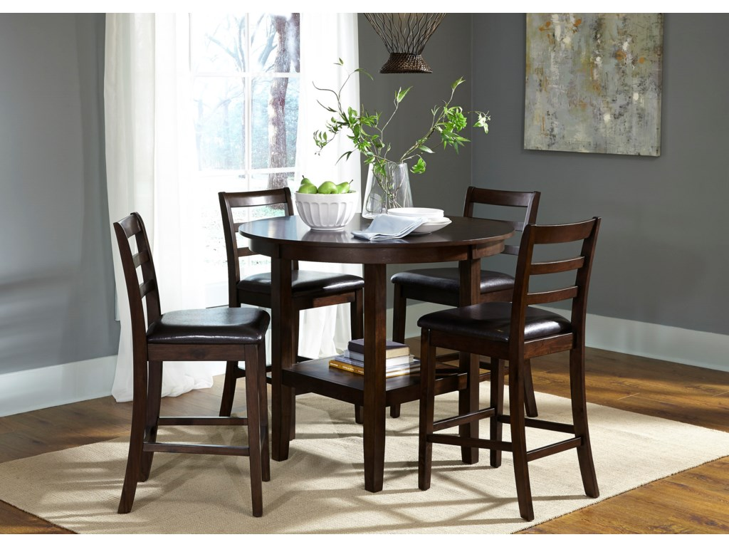 Liberty Furniture Bradshaw Casual Dining5 Piece Pub Table Set