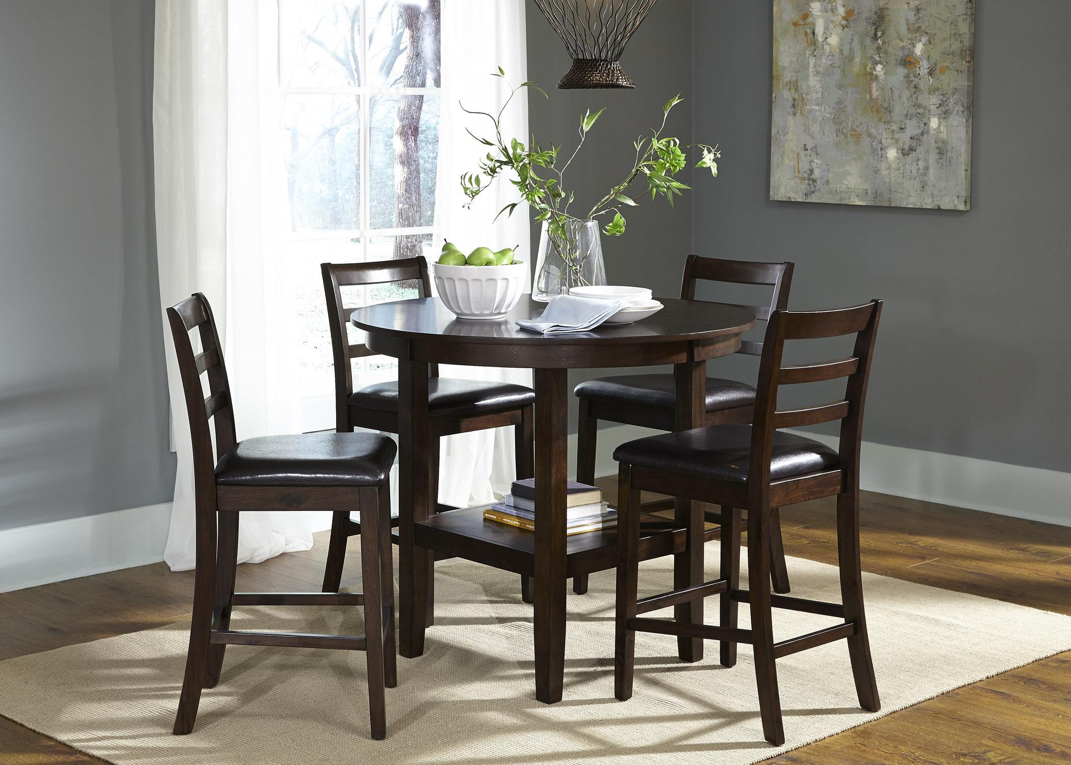Liberty Furniture Bradshaw Casual Dining5 Piece Pub Table Set