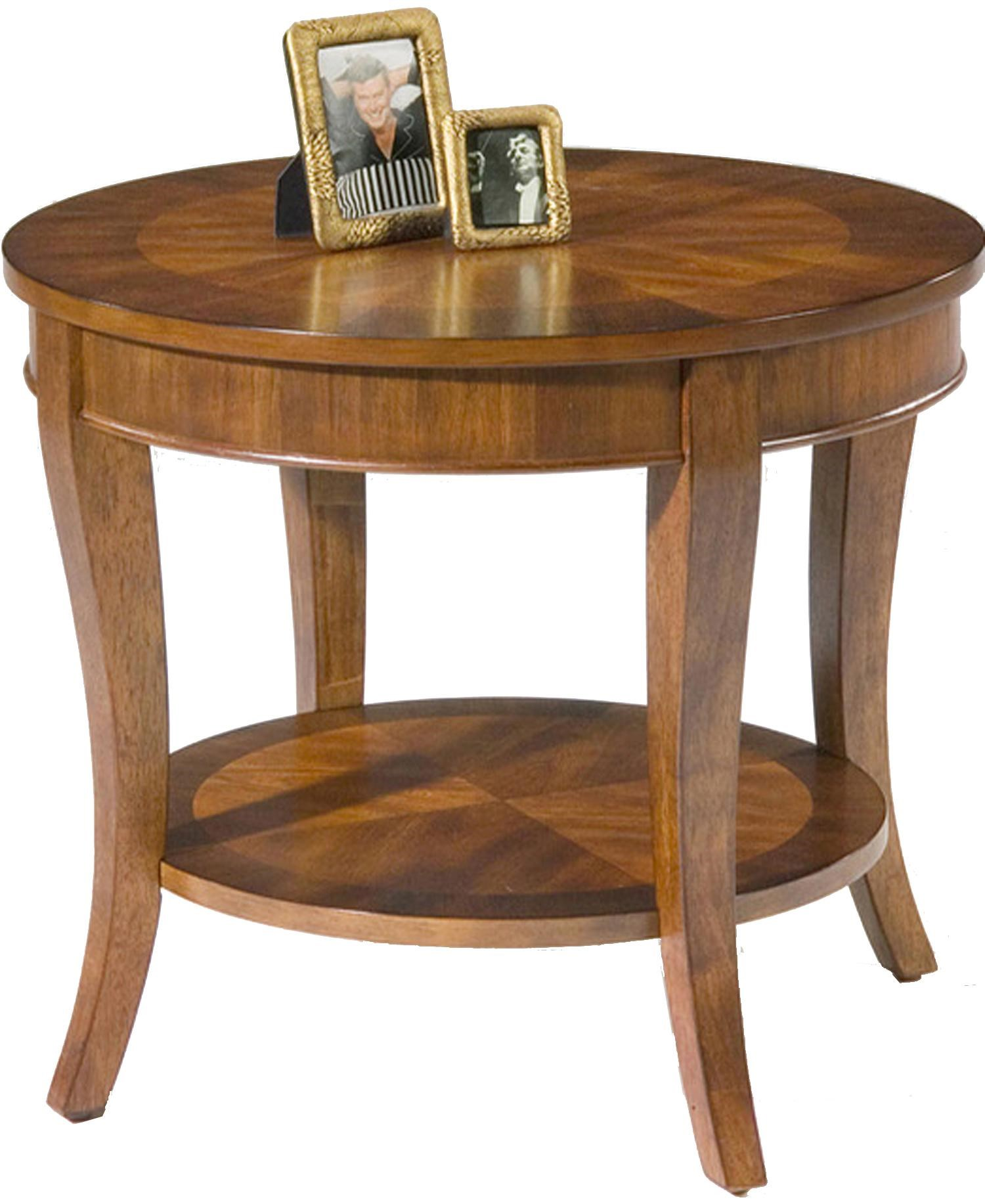 Merveilleux Bradshaw Round End Table With Shelf By Liberty Furniture