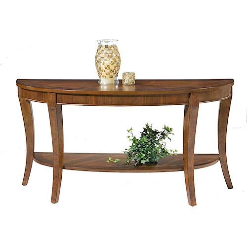 Liberty Furniture Bradshaw Demilune Sofa Table