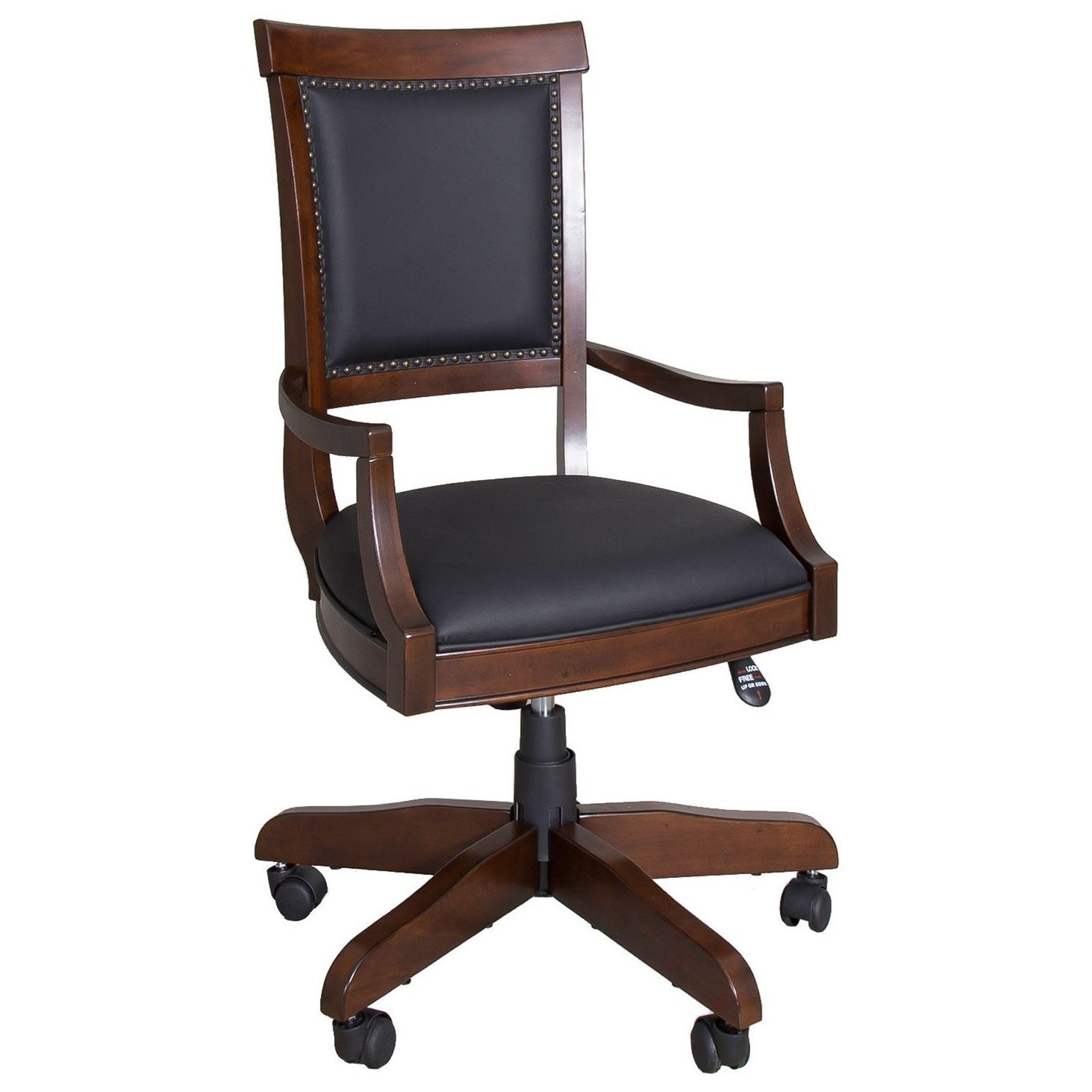 Traditional Upholstered Executive Desk Chair