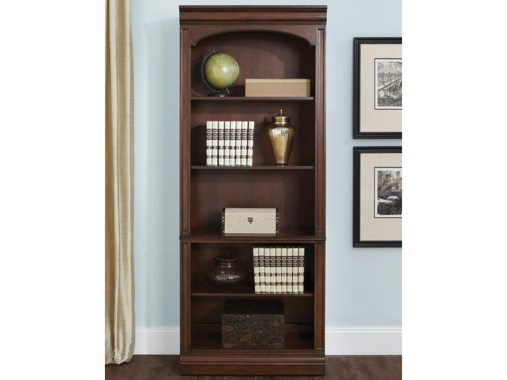 Sarah Randolph Designs Brayton Manor Jr ExecutiveOpen Bookcase