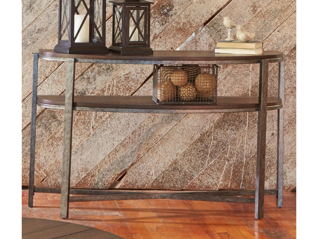 Liberty Furniture BreckinridgeDemilune Sofa Table