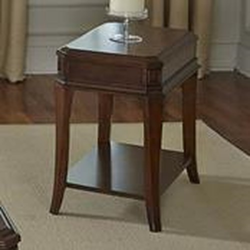 Liberty Furniture Brighton Park Transitional Chair Side Table