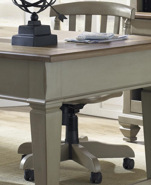 Liberty Furniture Bungalow Desk Chair w/ Casters