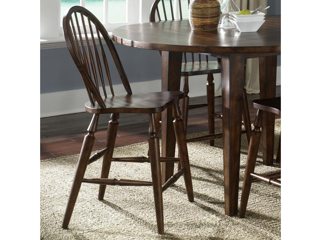 Liberty Furniture Cabin FeverWindsor Back Barstool