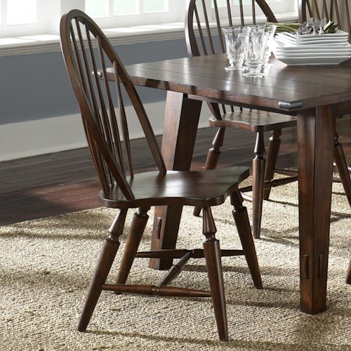 Liberty Furniture Campside Windsor Back Side Chair