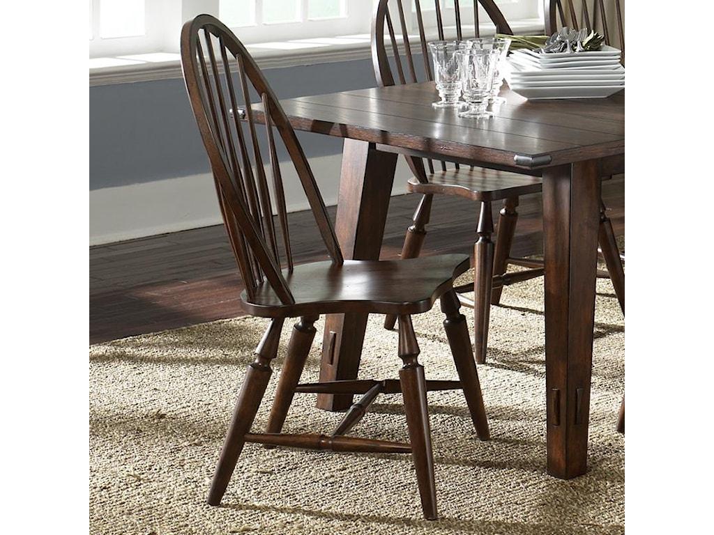Liberty Furniture Cabin FeverWindsor Back Side Chair