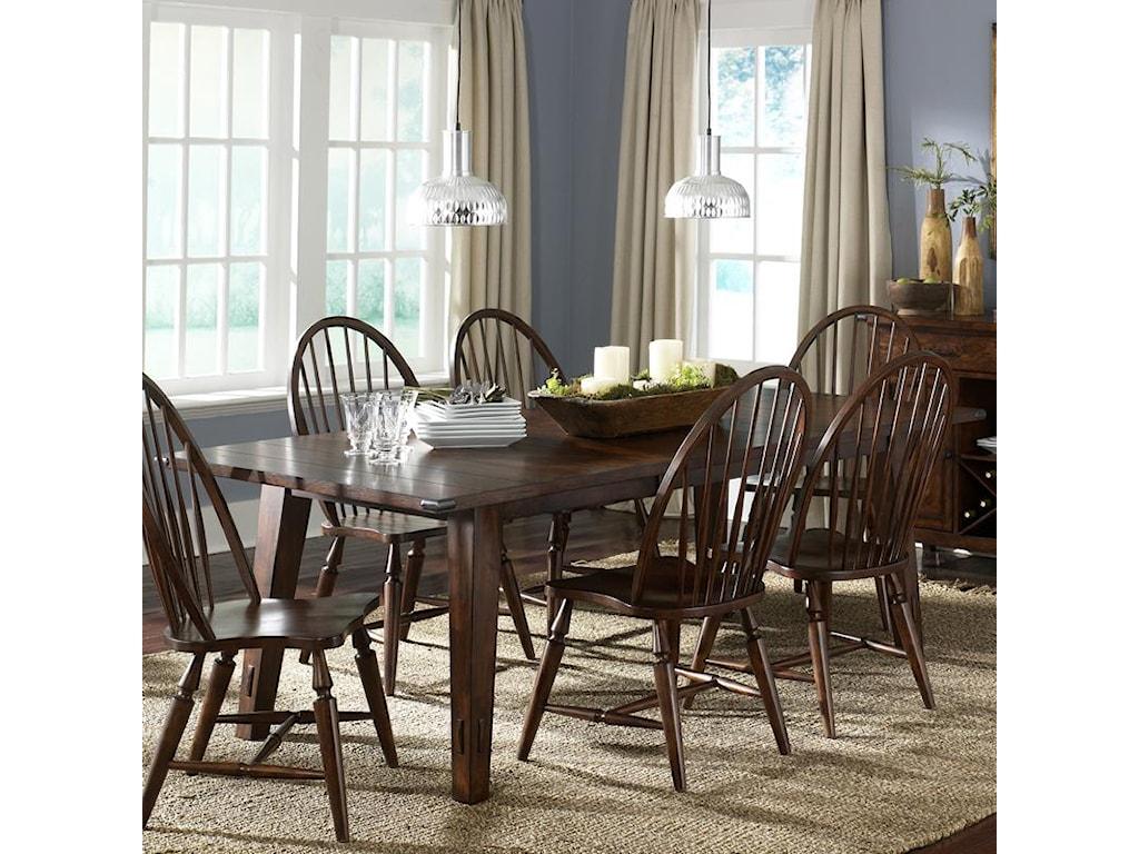 Liberty Furniture Cabin FeverRectangular Leg Table