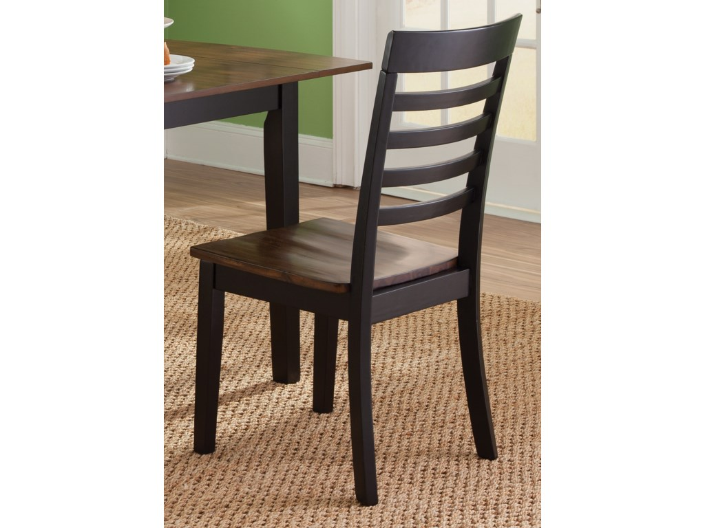 Liberty Furniture Cafe DiningRTA Slat Back Side Chair