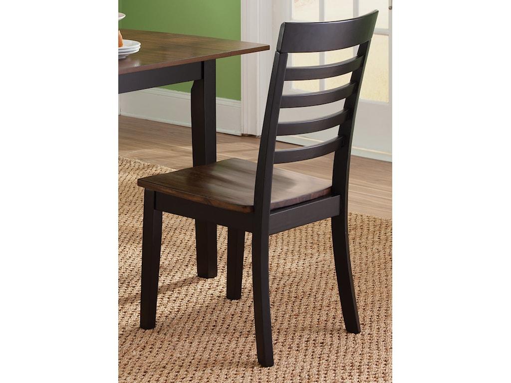 Vendor 5349 Cafe DiningRTA Slat Back Side Chair