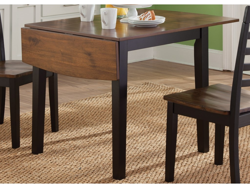 Liberty Furniture Cafe DiningDrop Leaf Table