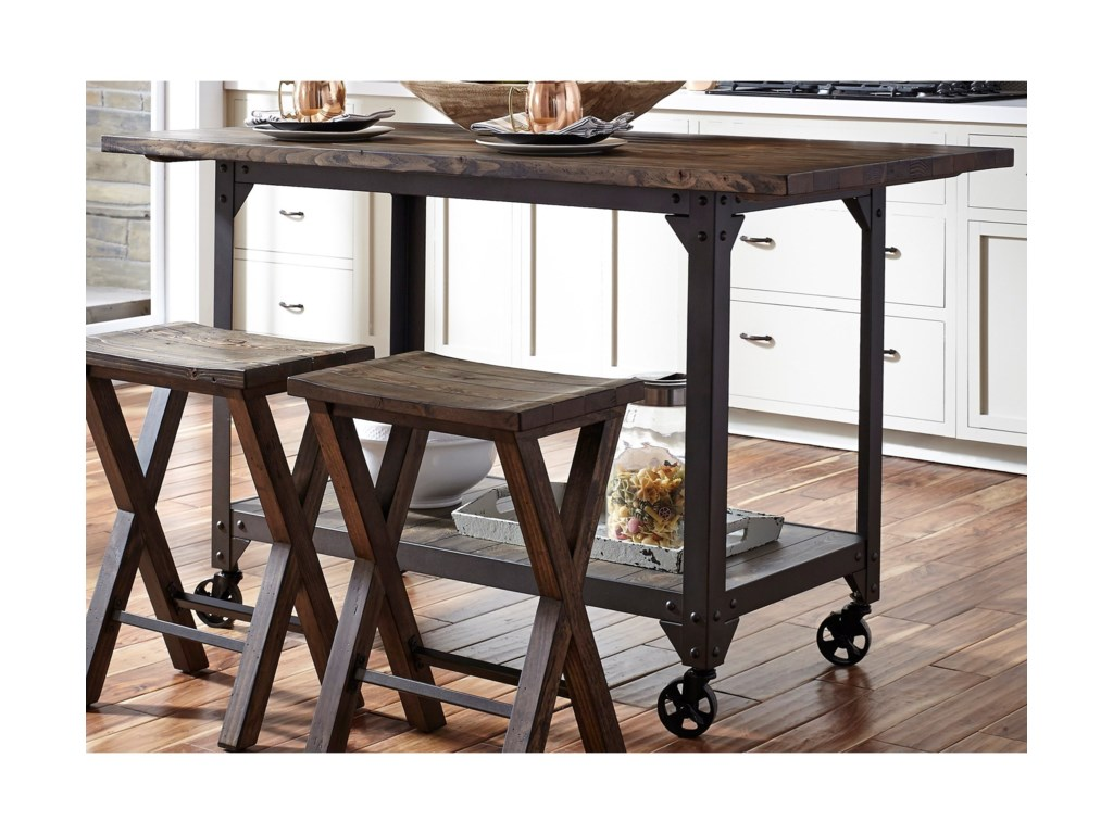 Liberty Furniture CaldwellCounter Height Kitchen Island