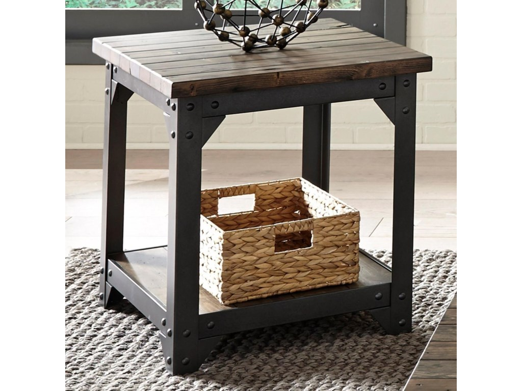 Liberty Furniture Caldwell OccEnd Table