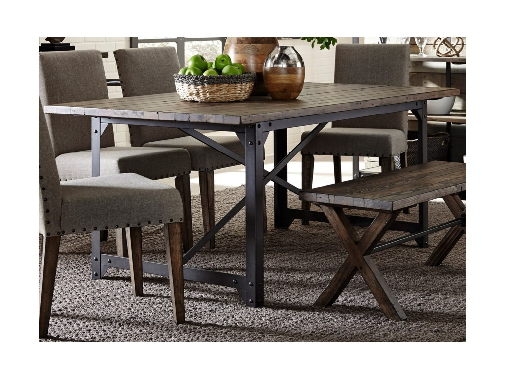 Liberty Furniture CaldwellTrestle Dining Table