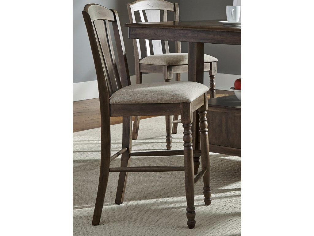 Liberty Furniture CandlewoodRTA Slat Back Barstool