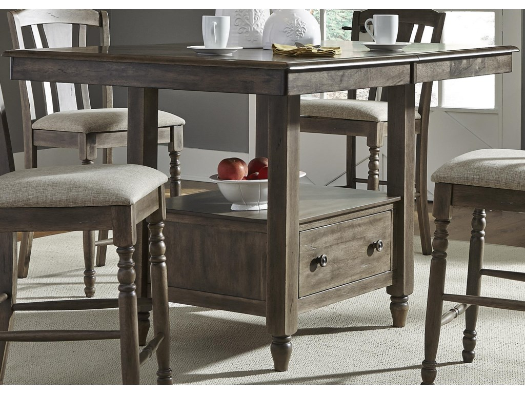 Liberty Furniture Candlewoodcenter Island Gathering Table