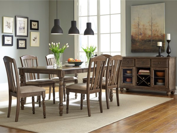Vendor 5349 Candlewood Casual Dining Room Group