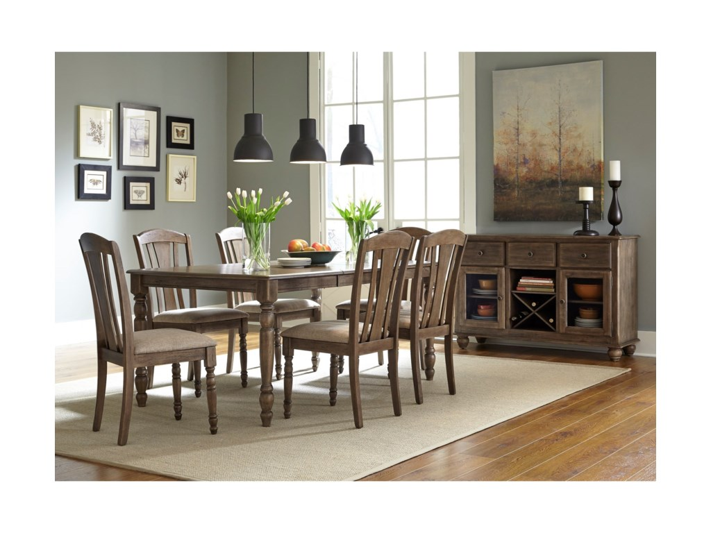 Liberty Furniture CandlewoodCasual Dining Room Group
