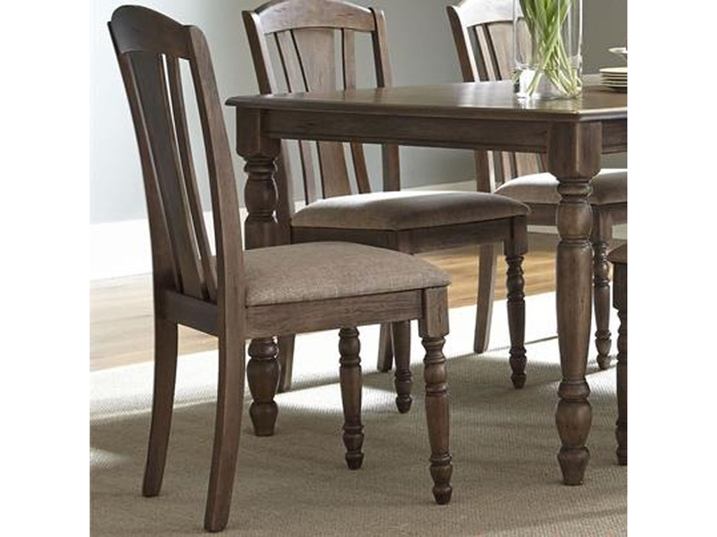Liberty Furniture CandlewoodSlat Back Side Chair