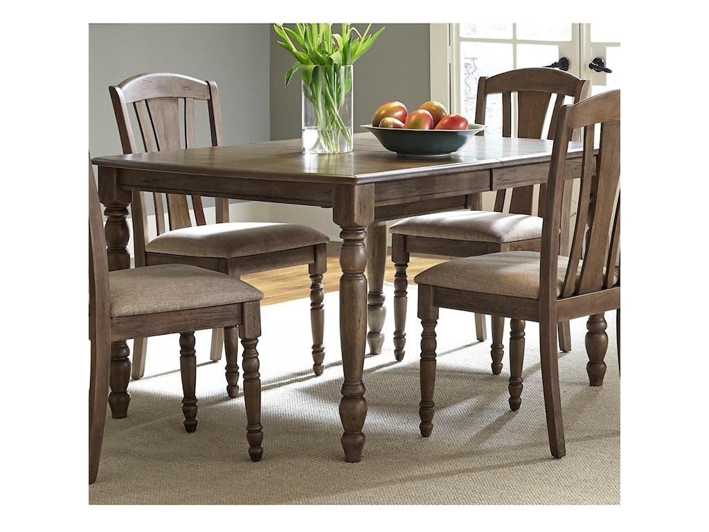 Liberty Furniture CandlewoodRectangular Leg Table