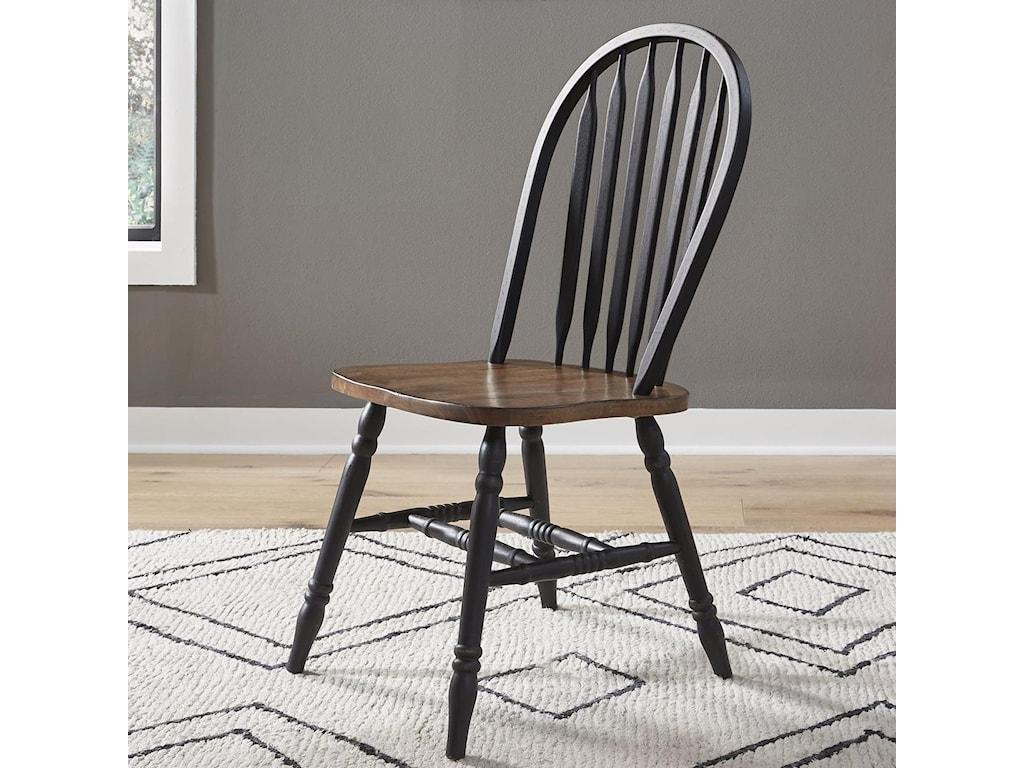 Liberty Furniture Carolina CrossingWindsor Side Chair