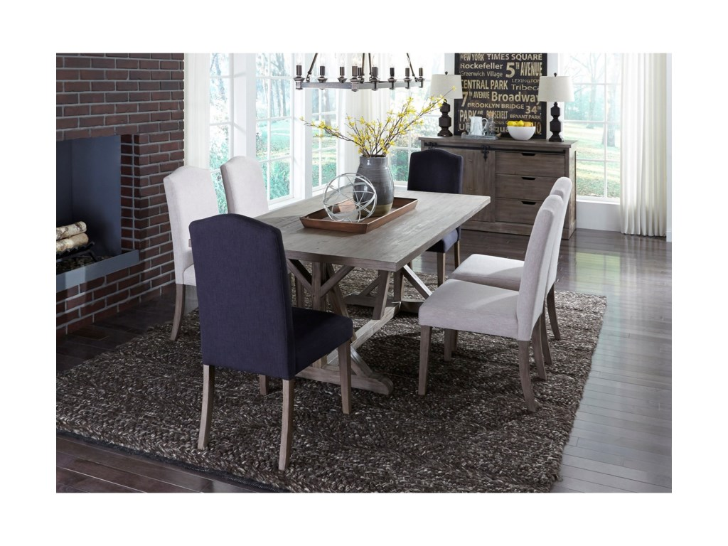 Liberty Furniture Carolina LakesFormal Dining Room Group