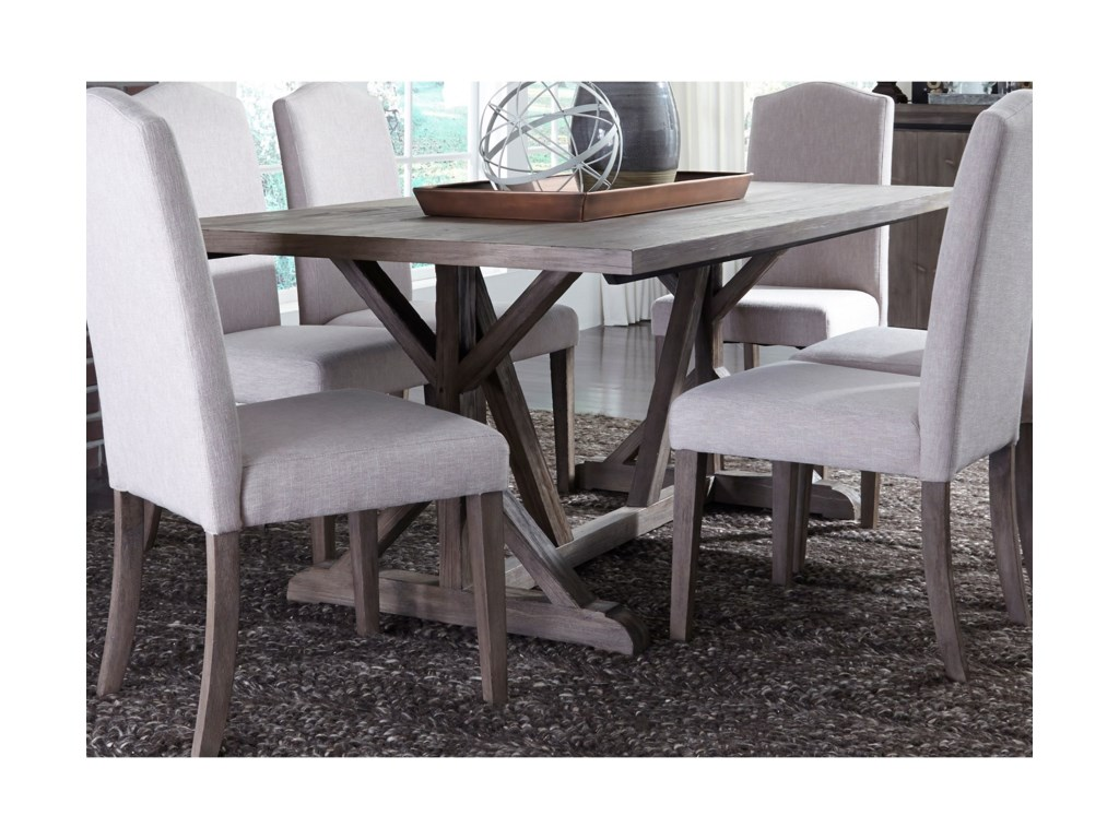 Liberty Furniture Carolina LakesTrestle Table