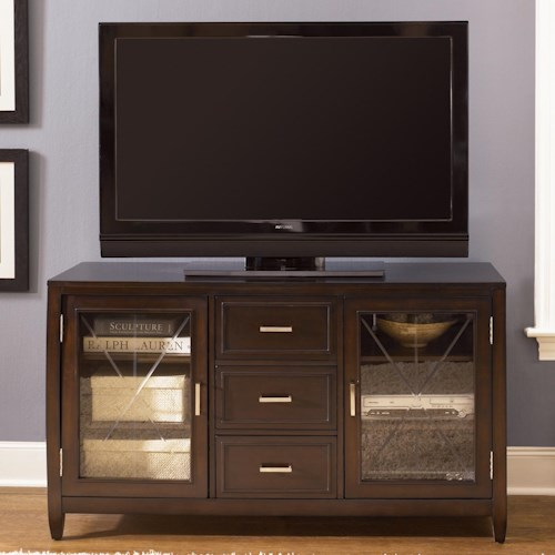 Liberty Furniture Caroline Two Door, Three Drawer Entertainment TV Stand