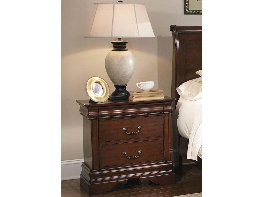 Liberty Furniture Carriage CourtQueen Sleigh Bed, Dresser & Mirror, N/S