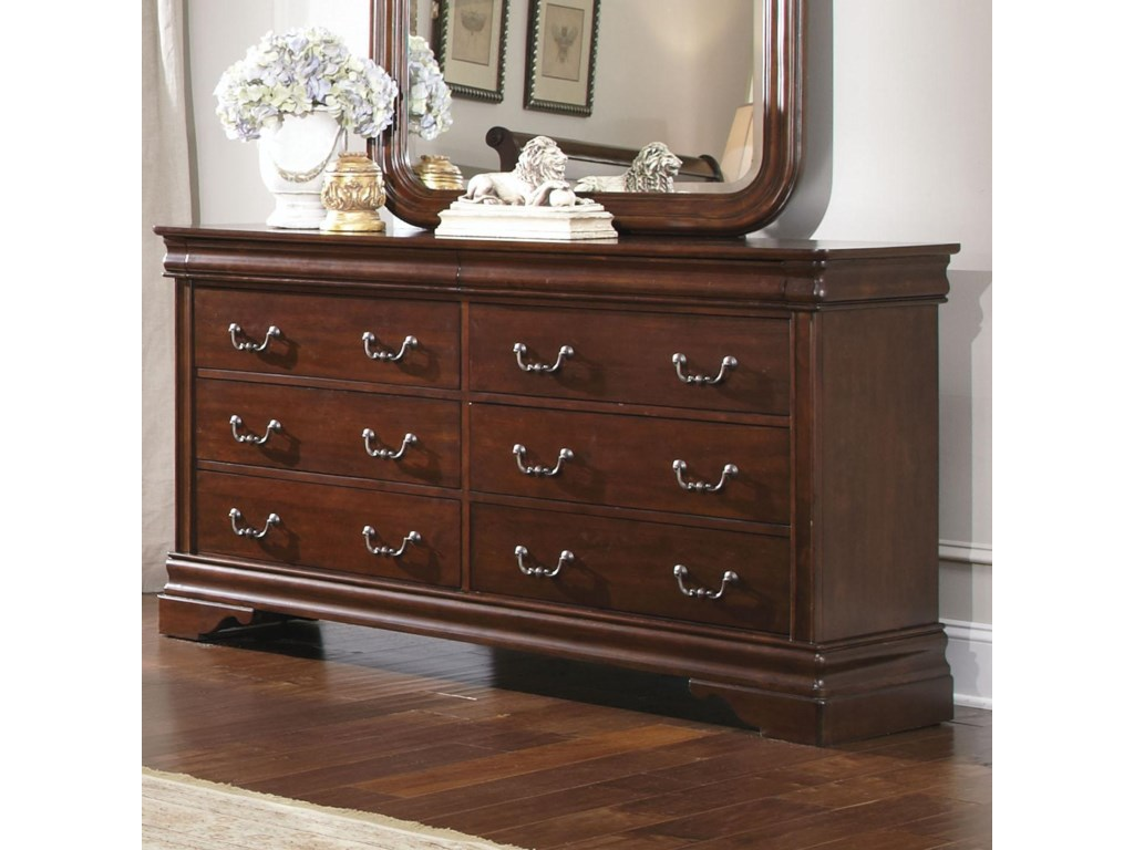 Liberty Furniture Carriage Court8 Drawer Dresser
