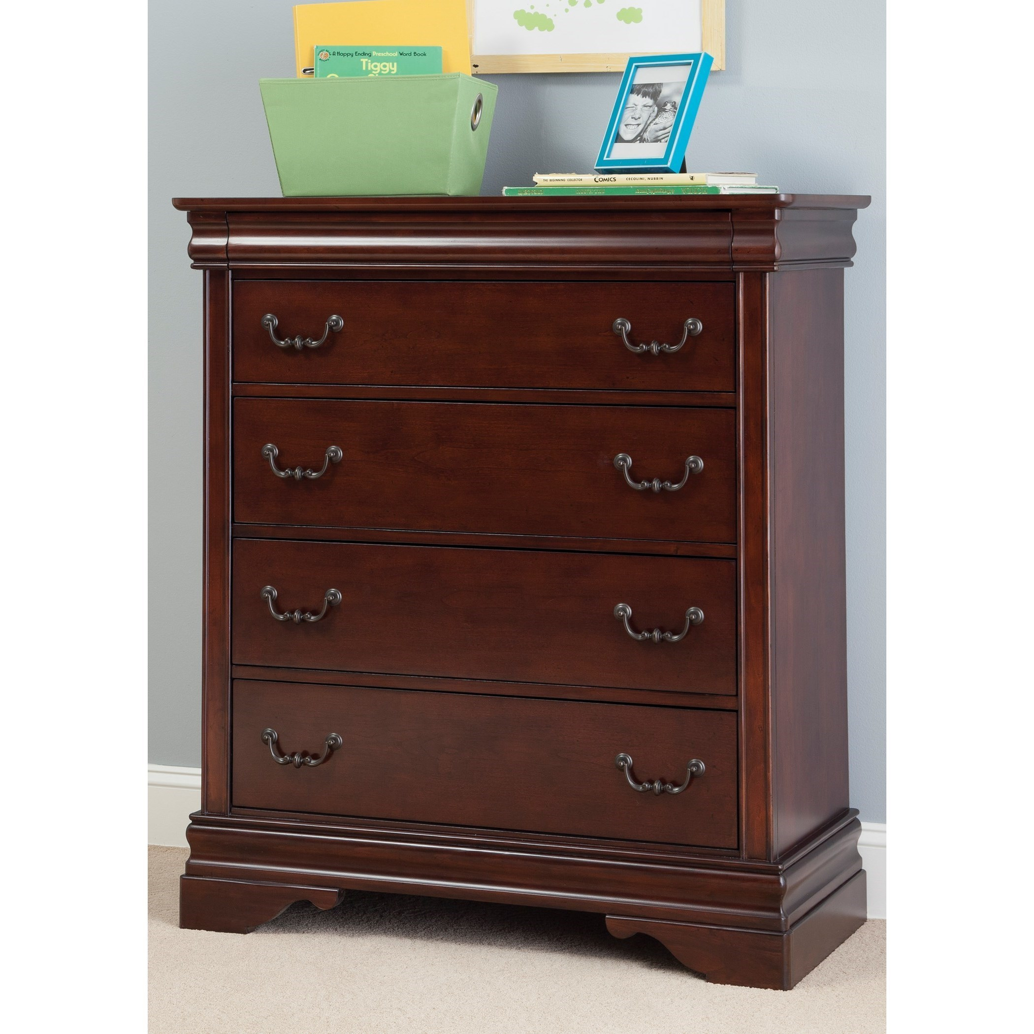 Liberty Furniture Carriage Court 709-BR40 Youth Five ...