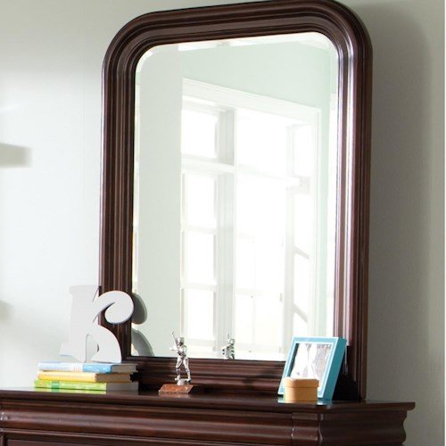 Liberty Furniture Carriage Court Beveled Edge Square Youth Mirror