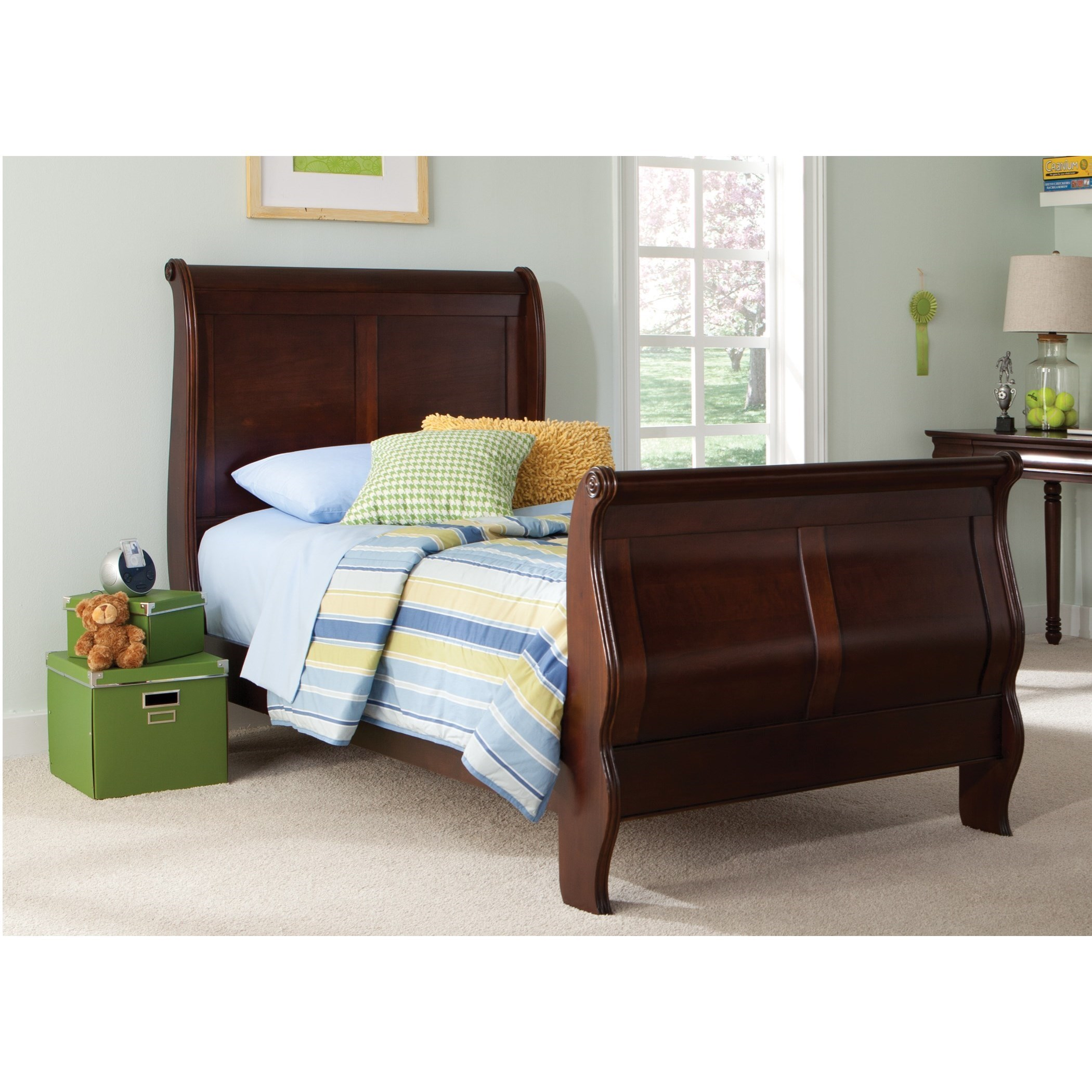 Youth Twin Sleigh Bed