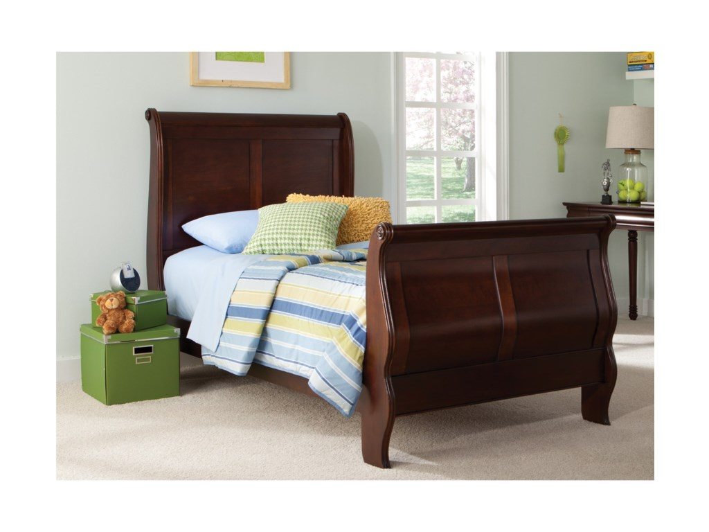 Liberty Furniture Carriage CourtTwin Sleigh Bed