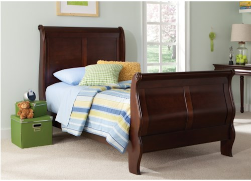 Liberty Furniture Carriage Court Youth Twin Sleigh Bed