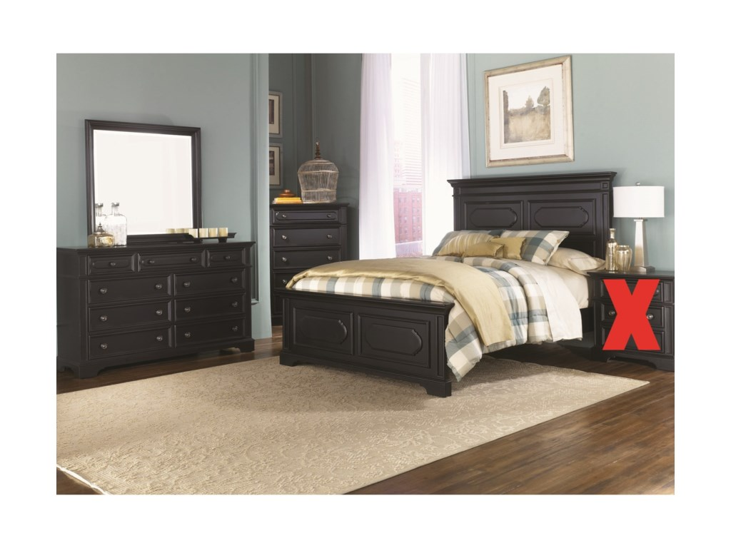 Liberty Furniture Carrington IIQueen Bedroom Group