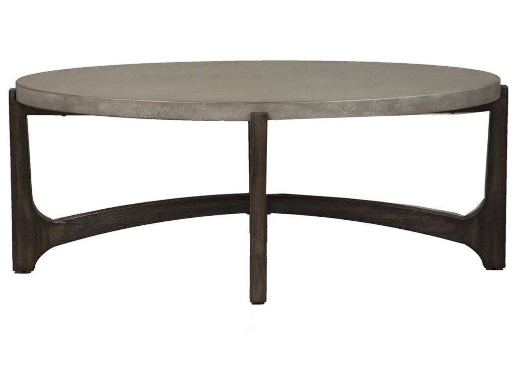 Liberty Furniture CascadeOval Cocktail Table