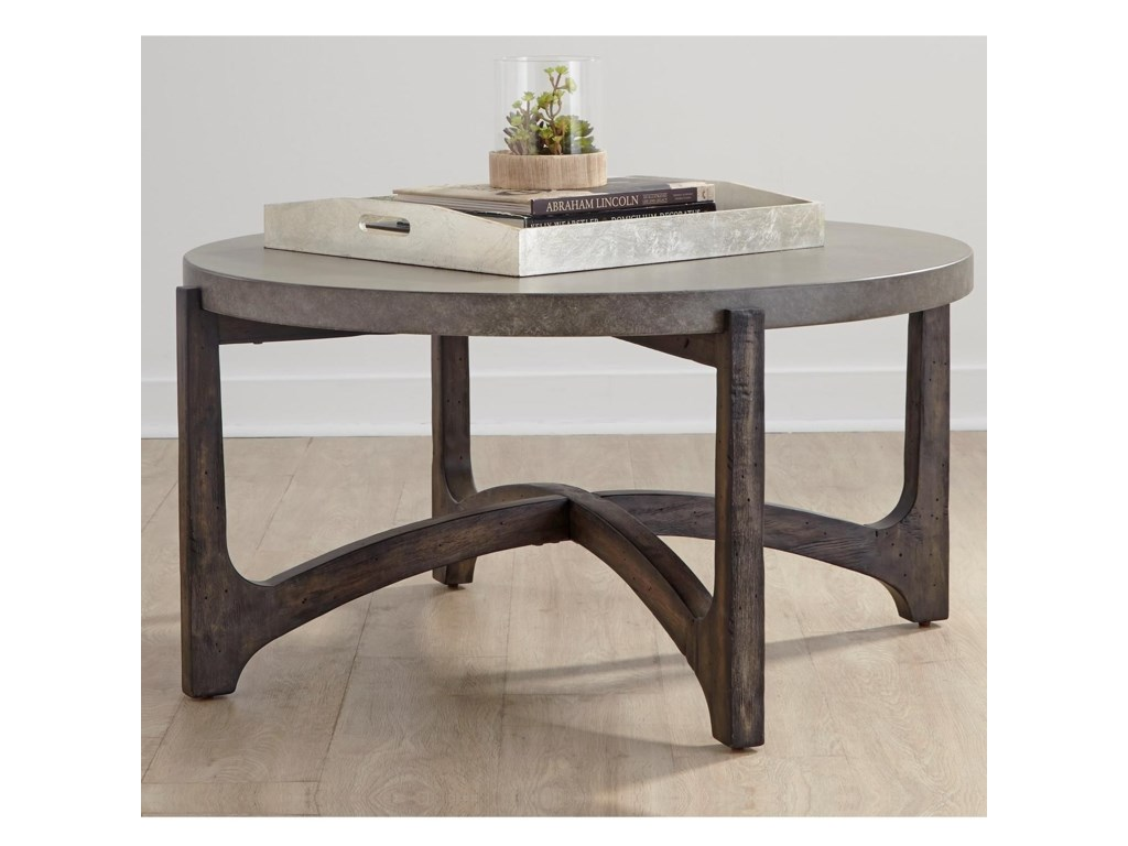 Liberty Furniture CascadeRound Cocktail Table