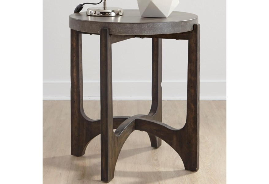 Cascade Contemporary End Table by Liberty Furniture at Darvin Furniture