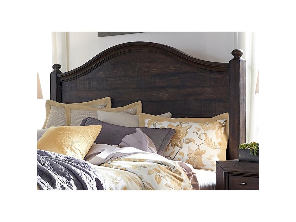 Liberty Furniture Catawba Hills BedroomQueeen Poster Headboard