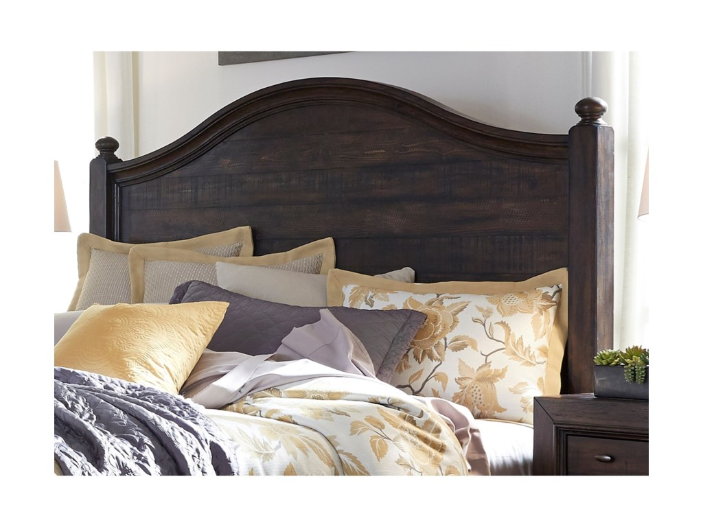 Liberty Furniture Catawba Hills BedroomKing Poster Headboard